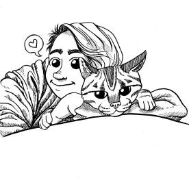 I love my kitty Tribble!