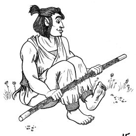 This isn't really a self-portrait per se, but this is my tabletop RPG character, Zinnia, who could be considered an extension of myself. I think it counts! She's a wonderful half-orc monk of the Lotus order. She's such a sweetie, I love her! She likes plants, desserts, animals, and making friends! She only has a charisma score of 10, but that doesn't stop her from trying to befriend people.
