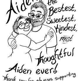 Aiden is great! Have I mentioned that before? He's wonderful.